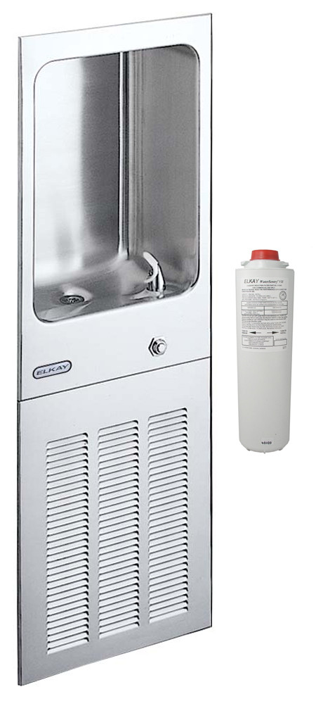 Elkay LJNEM8K Fully Recessed Water Cooler w/ Filter