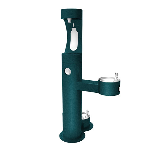Elkay LK4420BF1UDB Outdoor Bottle Filling Station