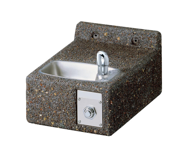 Elkay LK4593 Wall-Mount Stone Aggregate Drinking Fountain