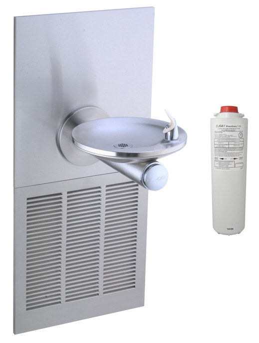 Elkay LRPBM8K Filtered In-Wall Drinking Fountain