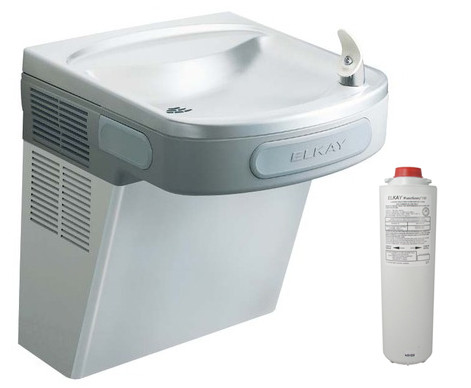 Elkay LZS8S Stainless Steel Filtered Drinking Fountain