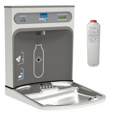 Elkay EZH2O LZWSRK Filtered Retrofit Bottle Filling Station for EZ Style Fountains
