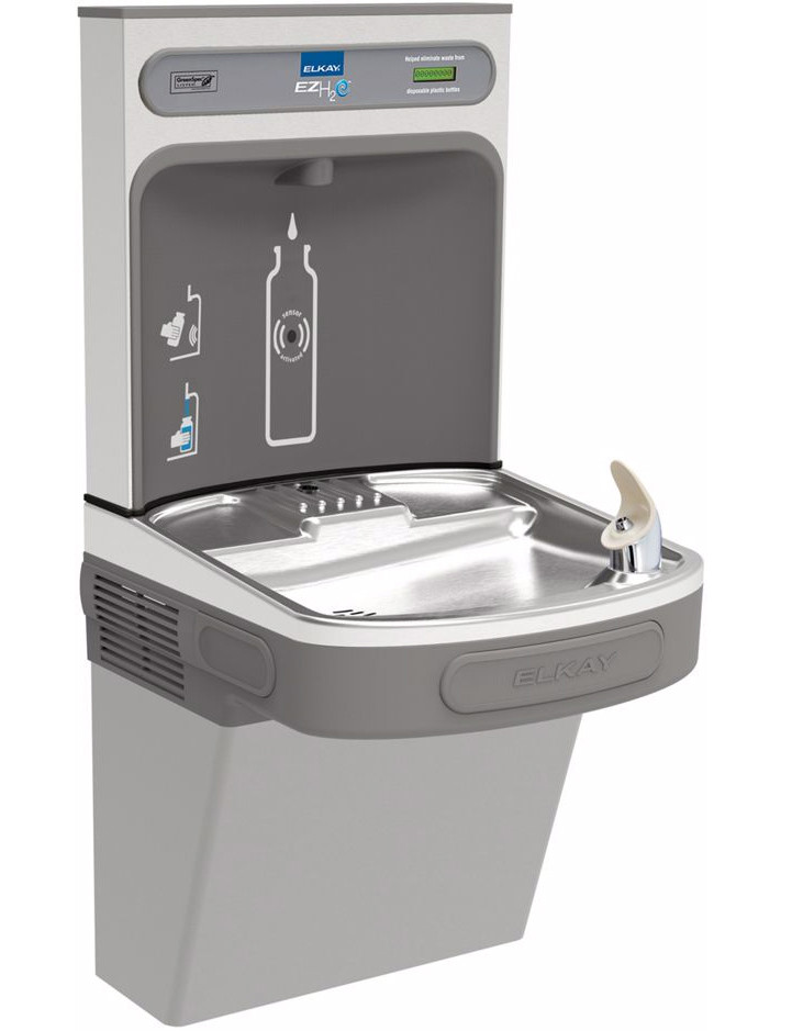 Elkay EZH2O EZSDWSLK Single Bottle Filling Station, NON-REFRIGERATED