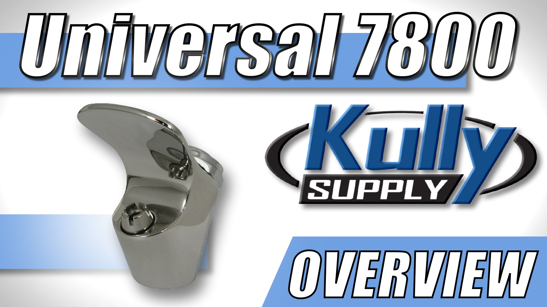Overview Video: Universal 7800 Bubbler Head Stainless Steel